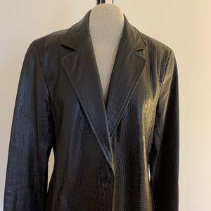 Lafayette  New York 148 leather Jacket.